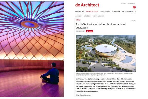 de Architect: