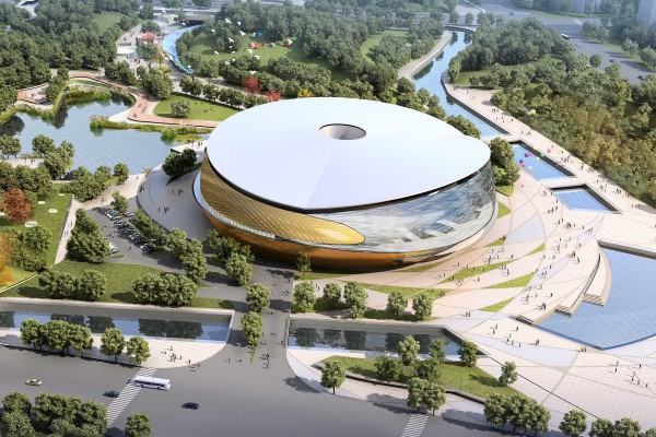 Archi-Tectonics wins Asian Games Sports Park Competition!