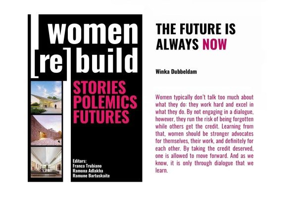 'Women reBuild' to feature writings by Winka!